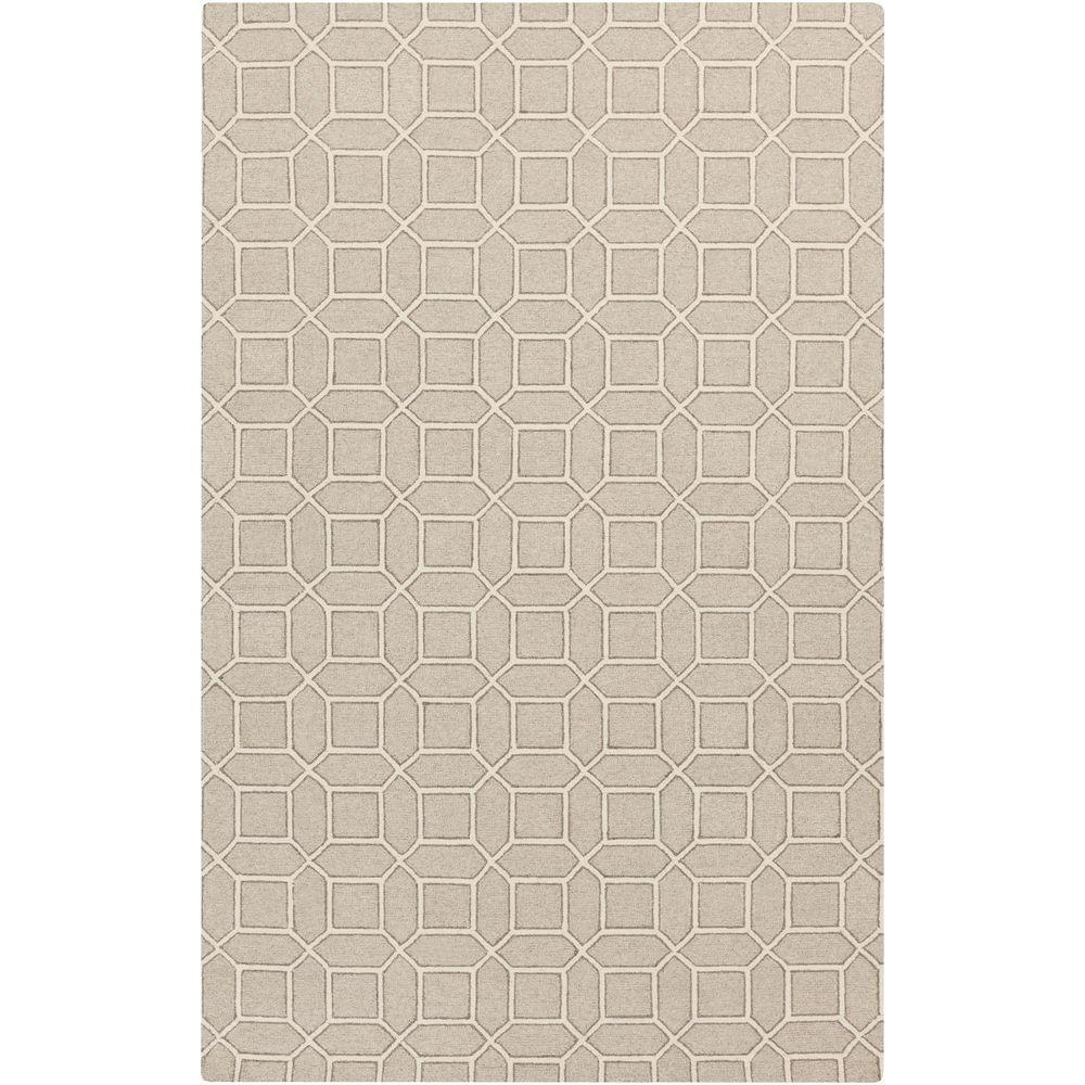 Hatvan Beige 9 ft. x 13 ft. Indoor Area Rug