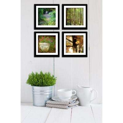 "Four 10 in. x 10 in. ""Magical Forest"" by Neeva Kedem Framed Printed Wall Art"