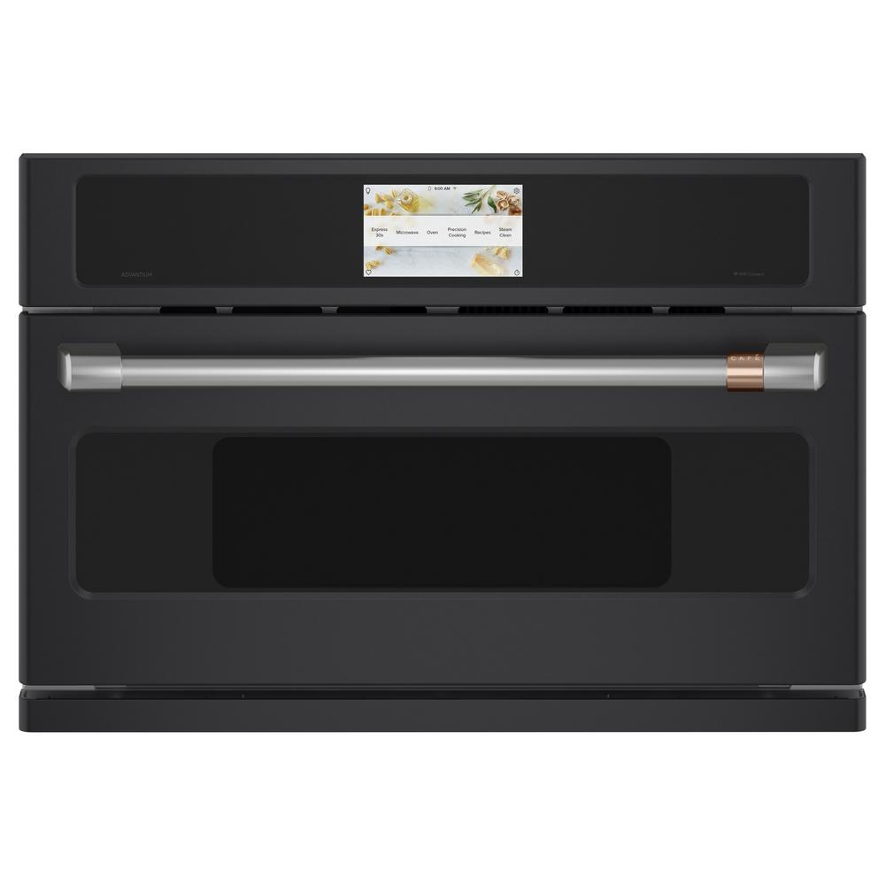 Cafe 1.7 cu. Ft. Built-In Convection Microwave in Matte Black