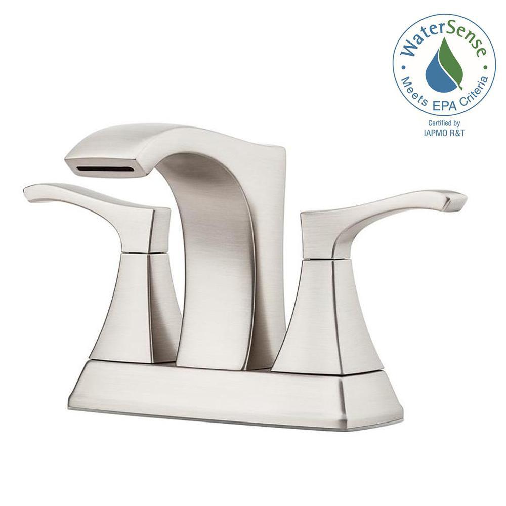 Pfister Venturi 4 In Centerset 2 Handle Bathroom Faucet