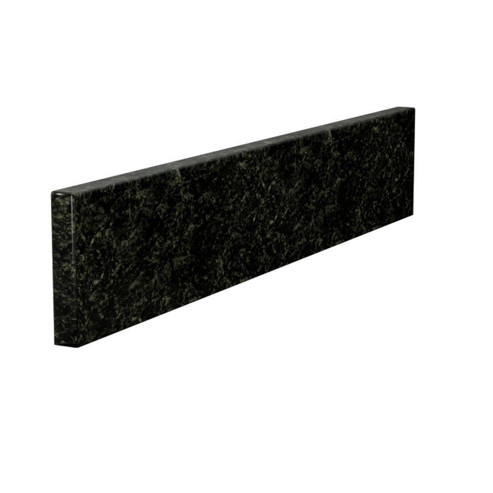 22 in. Granite Sidesplash in Uba Tuba