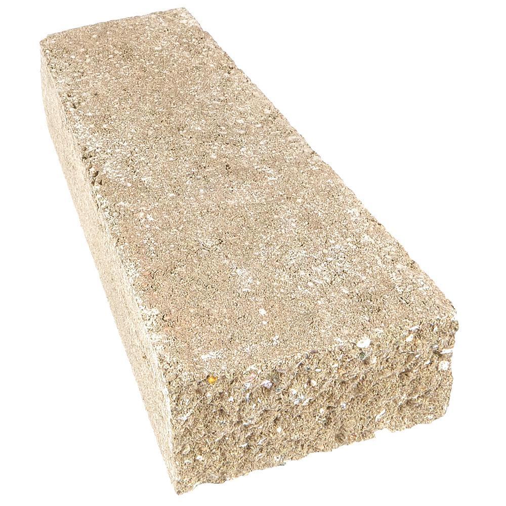 RockWall 2 in. H x 4.25 in. W x 9 in. D Limestone Concrete Wall Cap