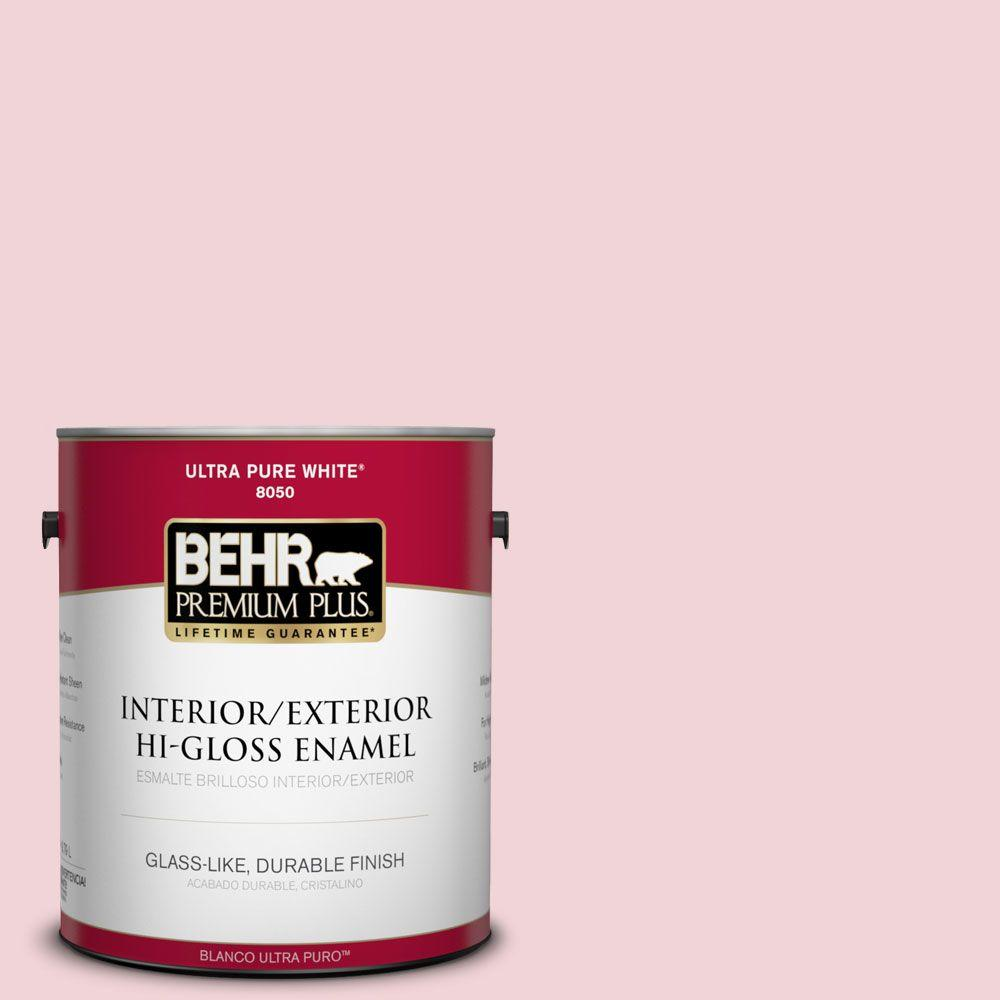 1-gal. #150C-2 Hawaiian Shell Hi-Gloss Enamel Interior/Exterior Paint