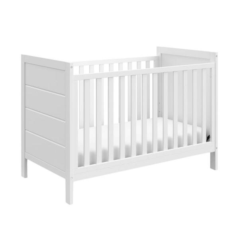 Storkcraft Nestling 3-in-1 Convertible Crib-White