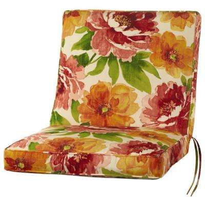 Muree Primrose Outdoor Dining Chair Cushion