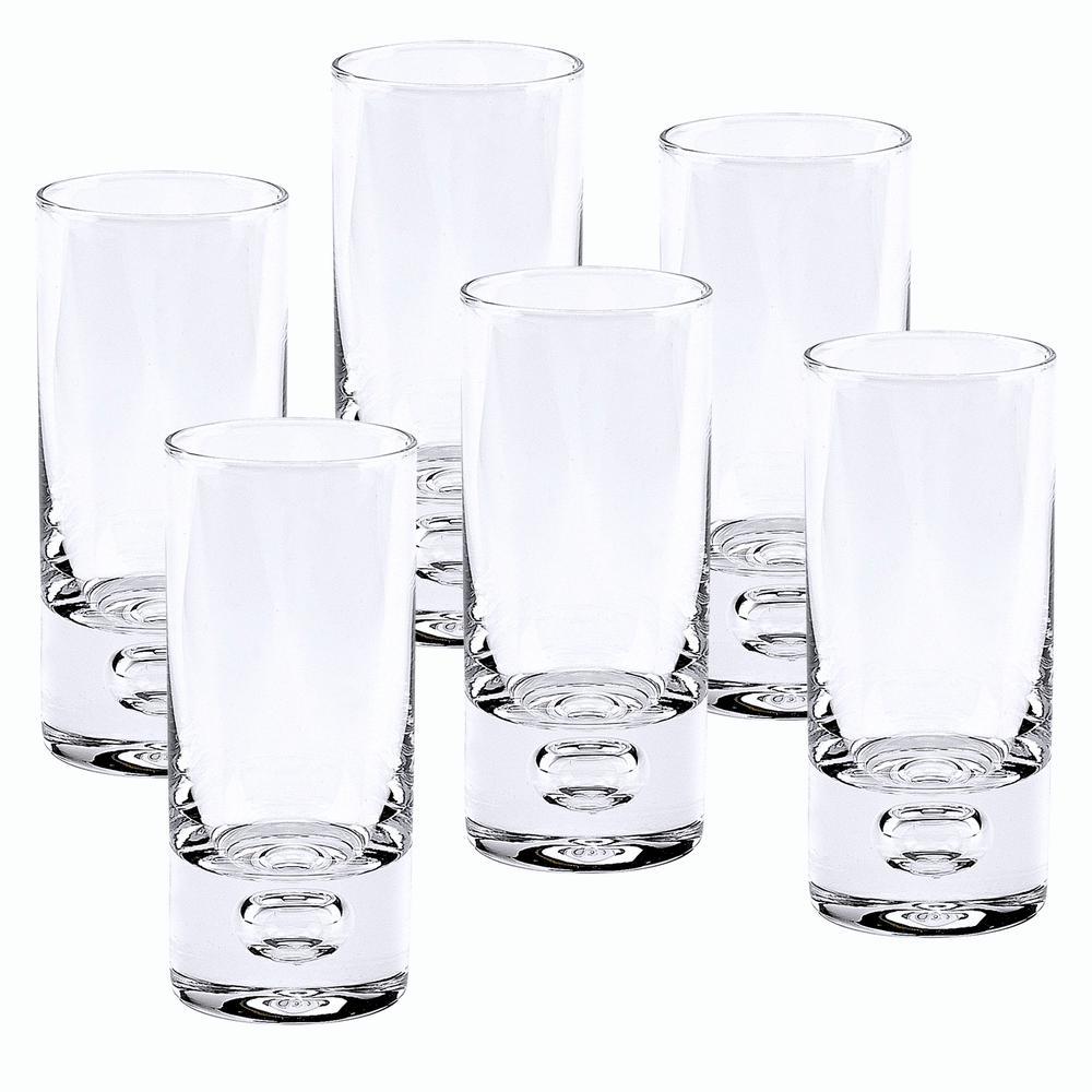 3 oz. 4 in. High Galaxy 6-Piece Shot or Vodka Glass Set