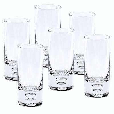 3 oz. 4 in. High Galaxy 6-Piece Shot or Vodka Glass Set