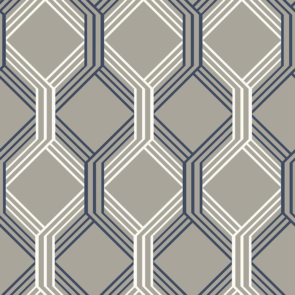 navy and grey wallpaper