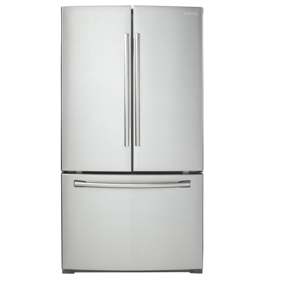 Samsung 255 Cu Ft French Door Refrigerator In Stainless Steel