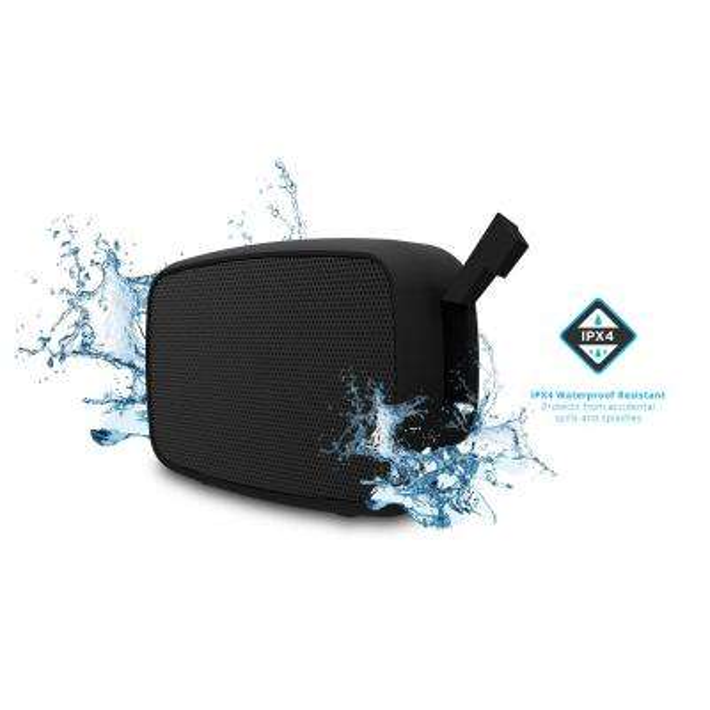 Water Resistant Wireless Speaker, Black