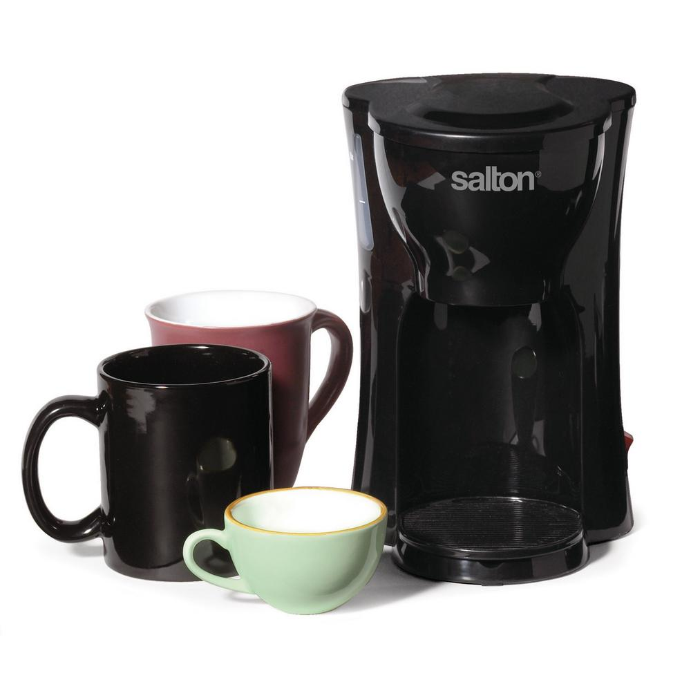 Single Cup Coffee Maker Office Use : Salton Single Serve Coffee Maker-FC1205 - The Home Depot