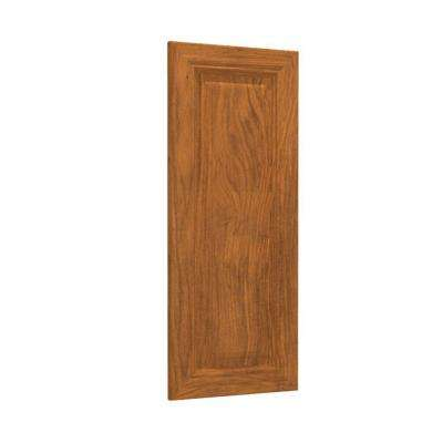 12x30x.75 in. Clevedon Matching Wall End Panel in Toffee Glaze
