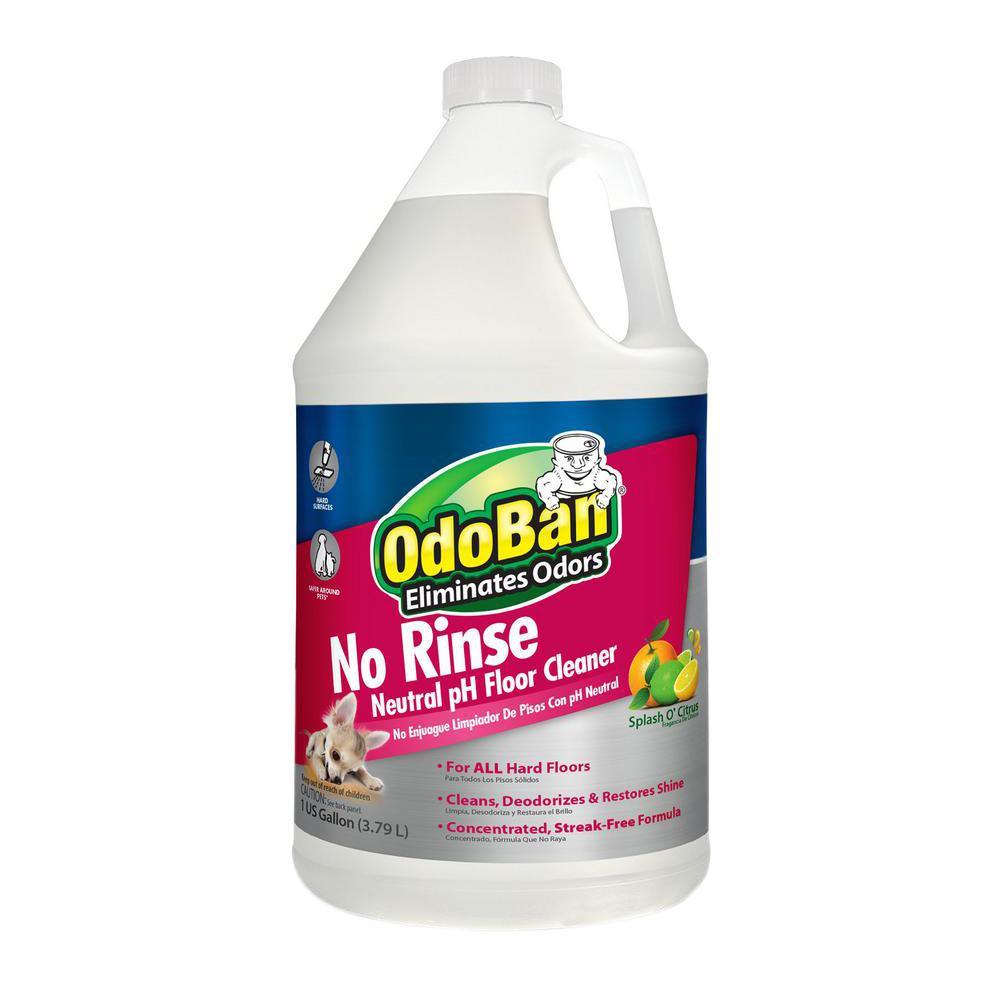Odoban 128 Oz No Rinse Neutral Ph Floor Cleaner 4 Pack