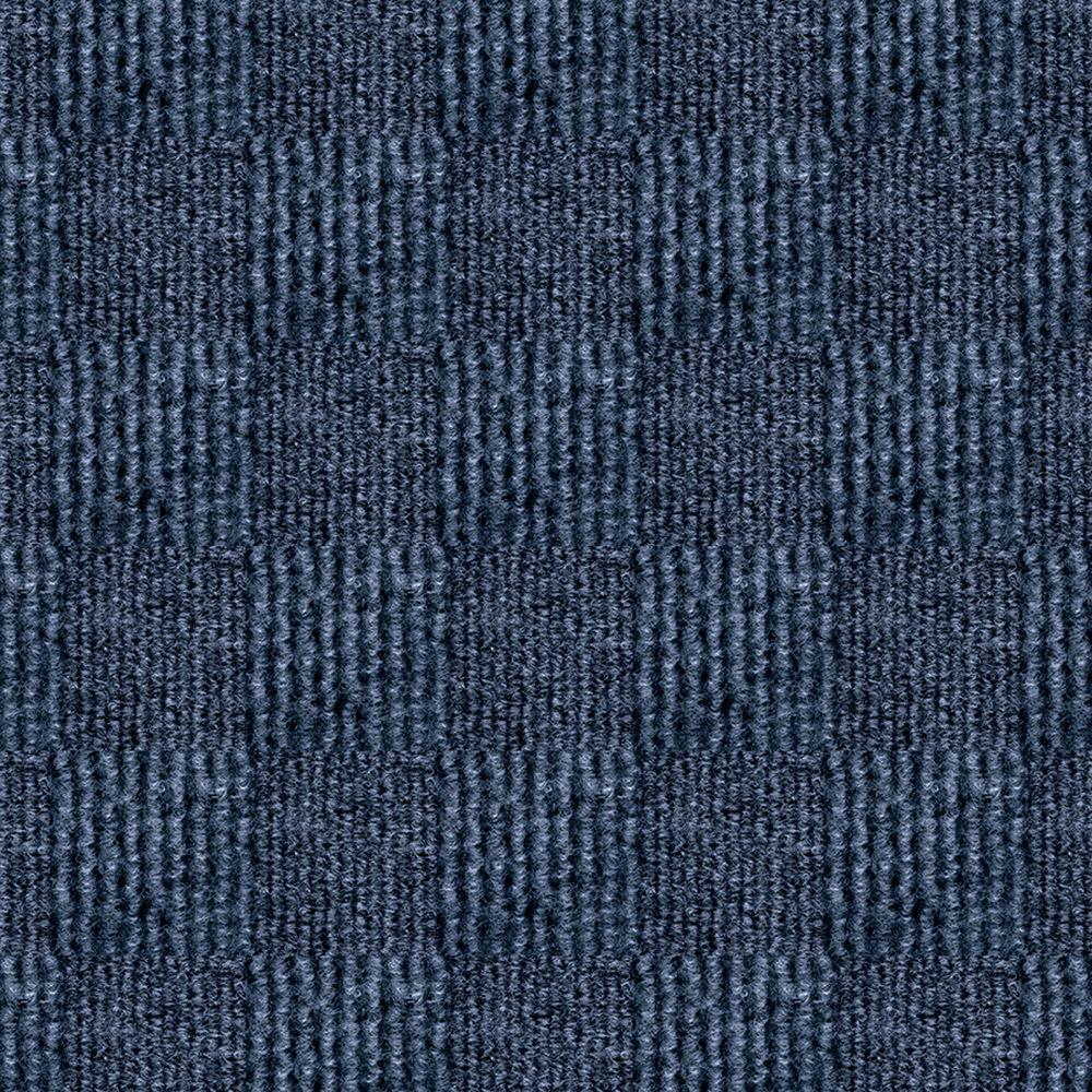First impressions city block denim texture 24 in x 24 in for Blue carpet tiles texture