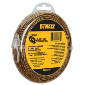 dewalt battery weed eater. dewalt 0.080 in. x 50 ft. replacement line for cordless battery operated bump feed string grass trimmer/lawn edger-dwo1dt801 - the home depot dewalt weed eater s