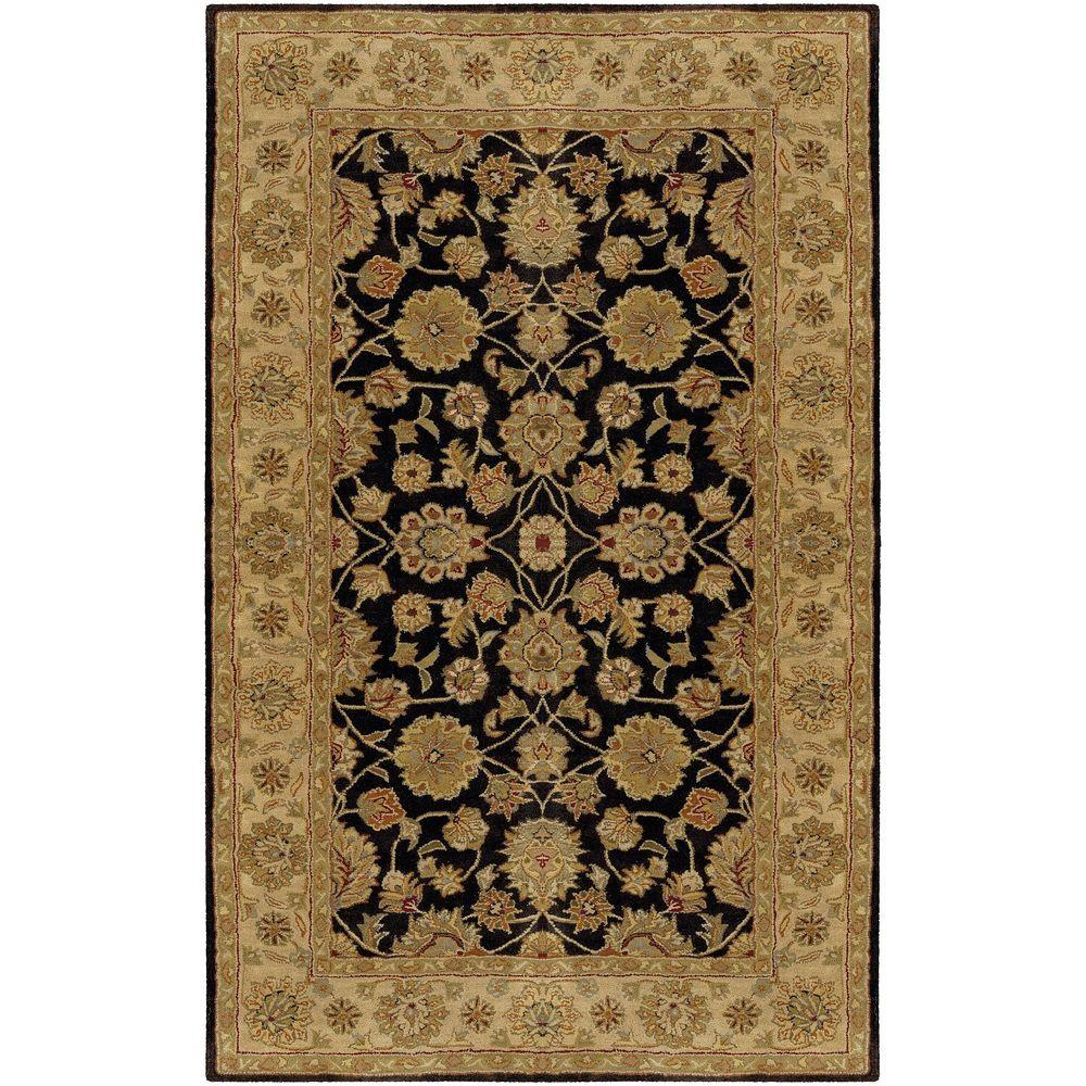 Artistic Weavers Norfolk Charcoal 6 ft. x 9 ft. Area Rug