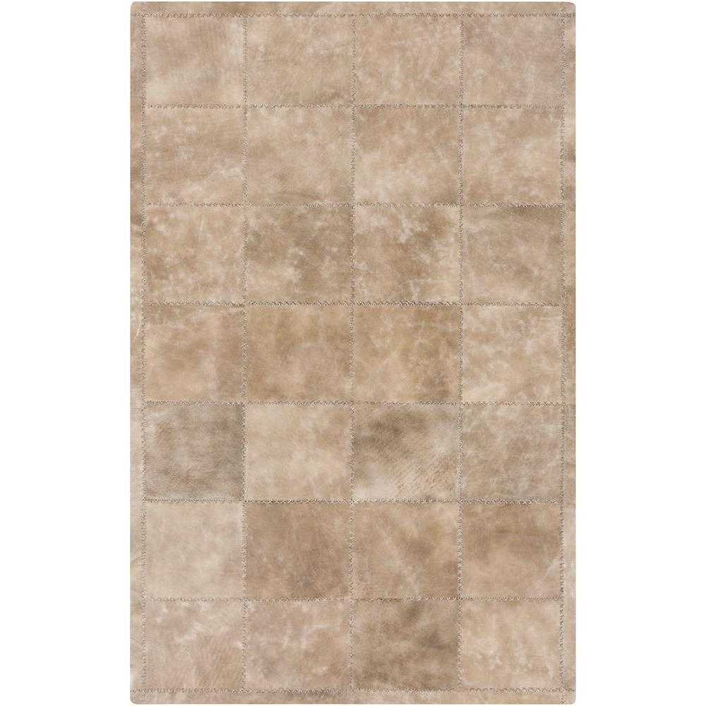 Marshall Taupe 2 ft. x 3 ft. Indoor Area Rug
