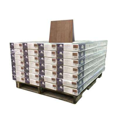 Birch American Blossom 3/8 in. T x 4-3/4 in. W x Varying Length Engineered Click Hardwood Flooring (924 sq. ft./pallet)