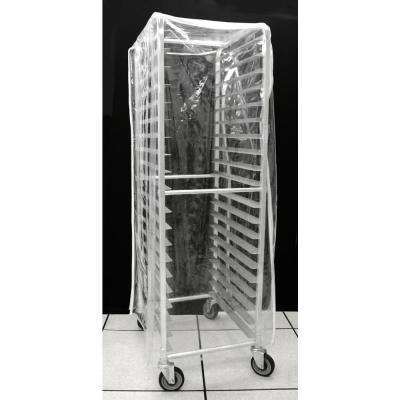 20-Tier Clear Pan Rack Cover