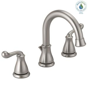 Delta Southlake 8 inch Widespread 2-Handle Bathroom Faucet in Brushed Nickel by Delta