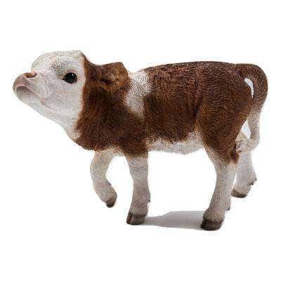 Cow Standing in Brown and White