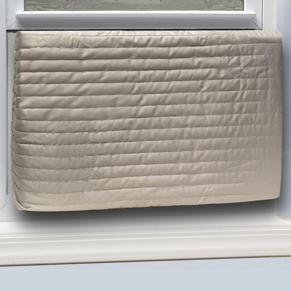 Frost King E/O 20 in. x 28 in. Inside Quilted Fabric Indoor Air Conditioner Cover