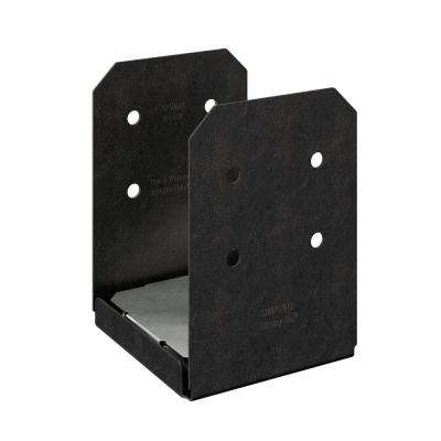 Outdoor Accents Avant Collection ZMAX, Black Powder-Coated Post Base for 8x8 Nominal Lumber
