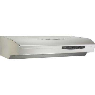 Allure 1 Series 36 in. Convertible Range Hood in Stainless Steel
