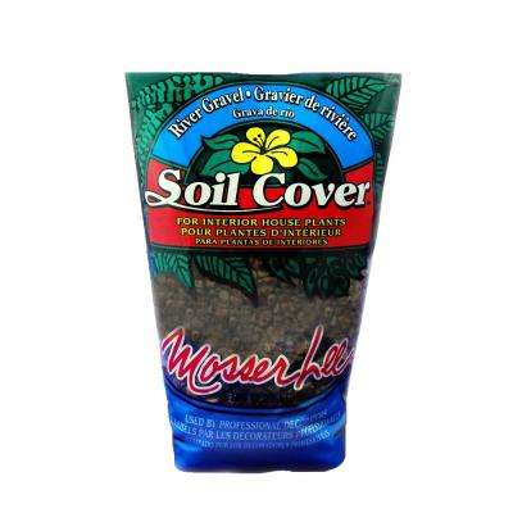 Decorator 0.04 cu. ft. 5 lbs. River Gravel Soil Cover Bag