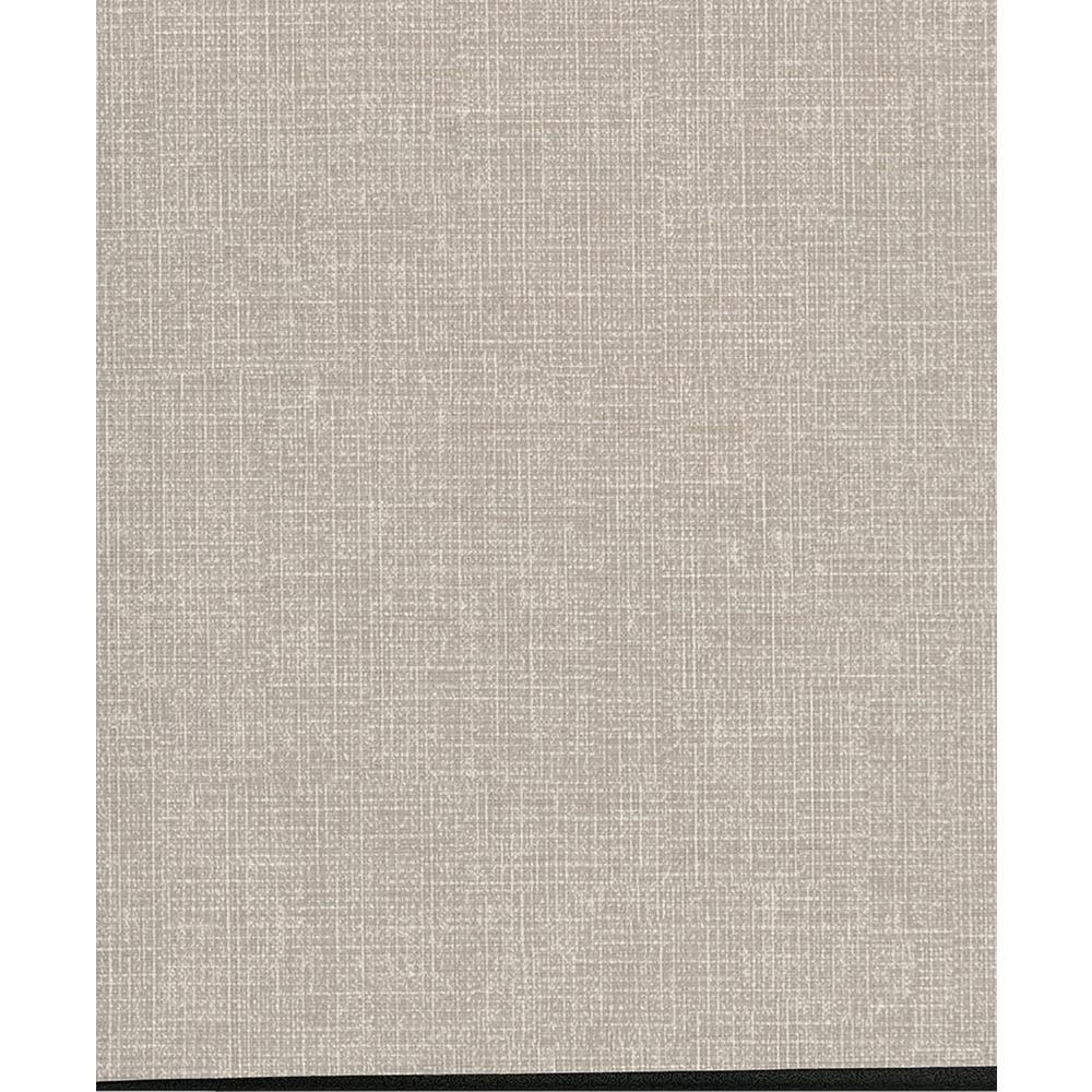 8 in. x 10 in. Arya Grey Fabric Texture Wallpaper Sample