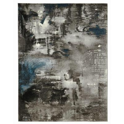 Journey Gray 5 ft. x 7 ft. Area Rug