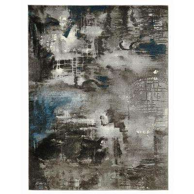Journey Gray 7 ft. 10 in. x 9 ft. 10 in. Area Rug