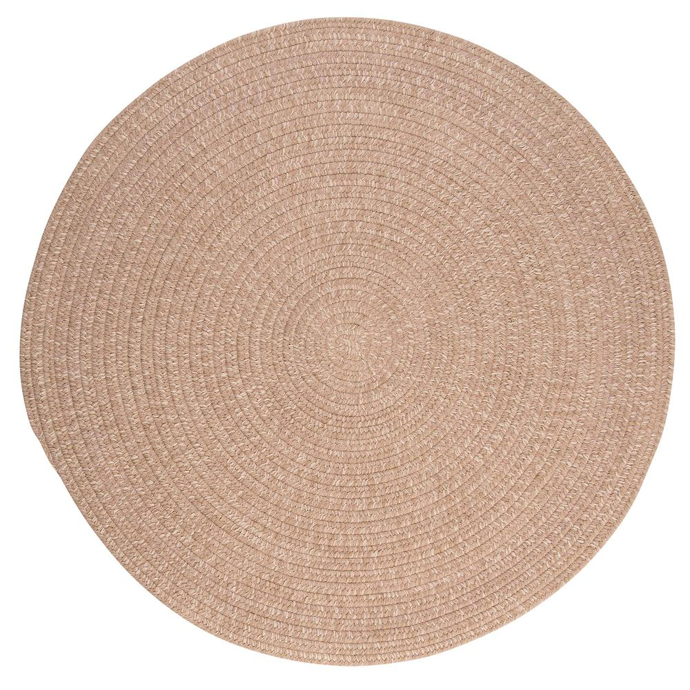 Home Decorators Collection Cicero Oatmeal 6 ft. x 6 ft. Round Area Rug