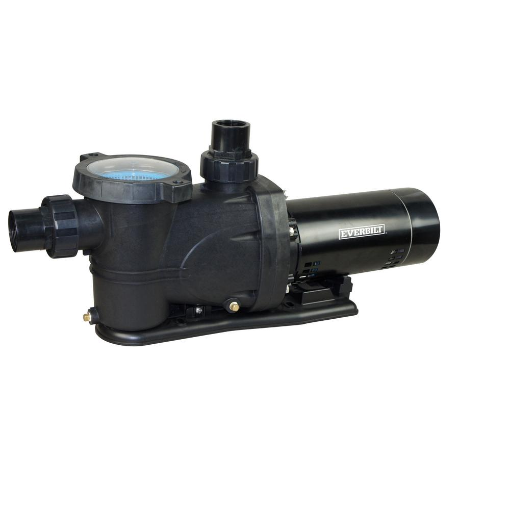 Everbilt Everbilt 1.5 HP 230-Volt/115-Volt Pool Pump
