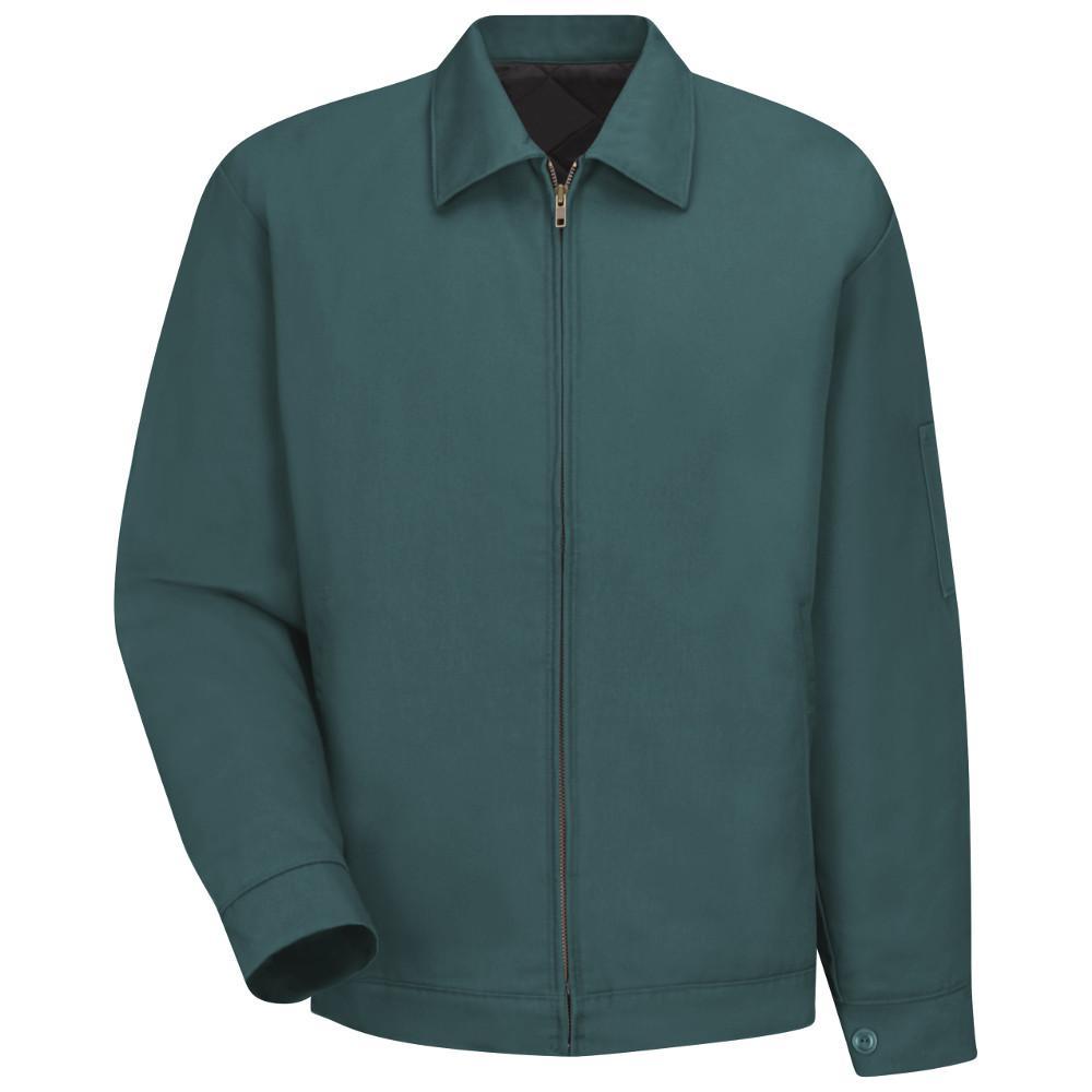 Men's Size 4XL (Tall) Spruce Green Slash Pocket Jacket