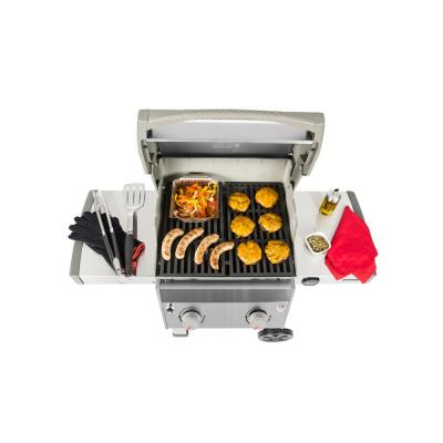 Spirit II S-210 2-Burner Propane Gas Grill Stainless Steel