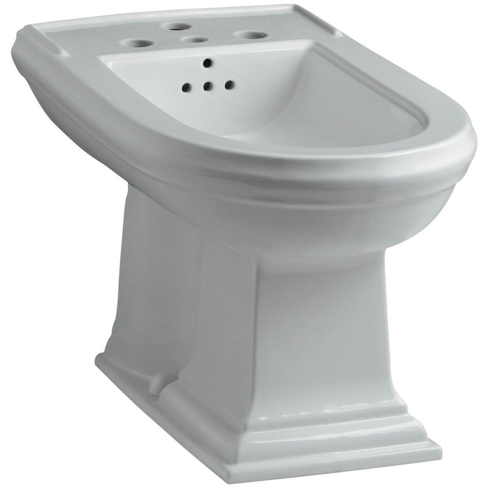 Memoirs Elongated Bidet in Ice Grey