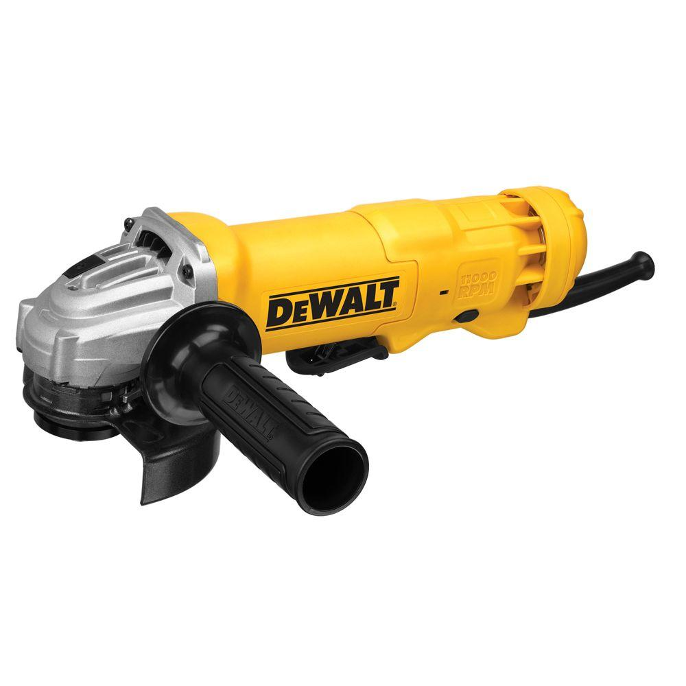 DEWALT 120-Volt 4-1/2 in. Corded Small Angle Grinder