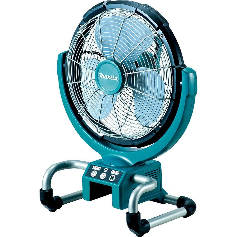 Makita 18-Volt LXT Lithium-Ion 13 in. Cordless Job Site Fan (Tool-Only)