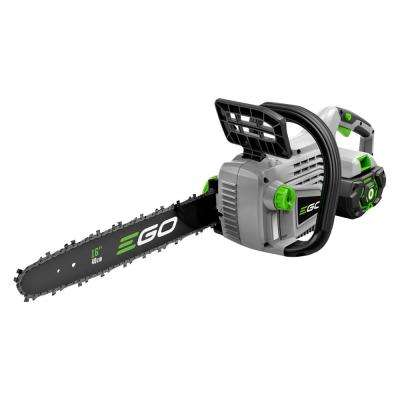 16 in. 56-Volt Lithium-Ion Cordless Electric Chainsaw, 5.0 Ah Battery and Charger Included
