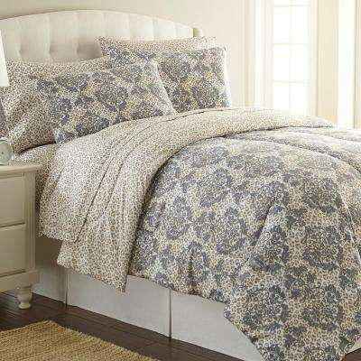 Leopard Twin 3-Piece Comforter Set