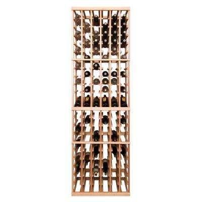 126-Bottle Pine Floor Wine Rack