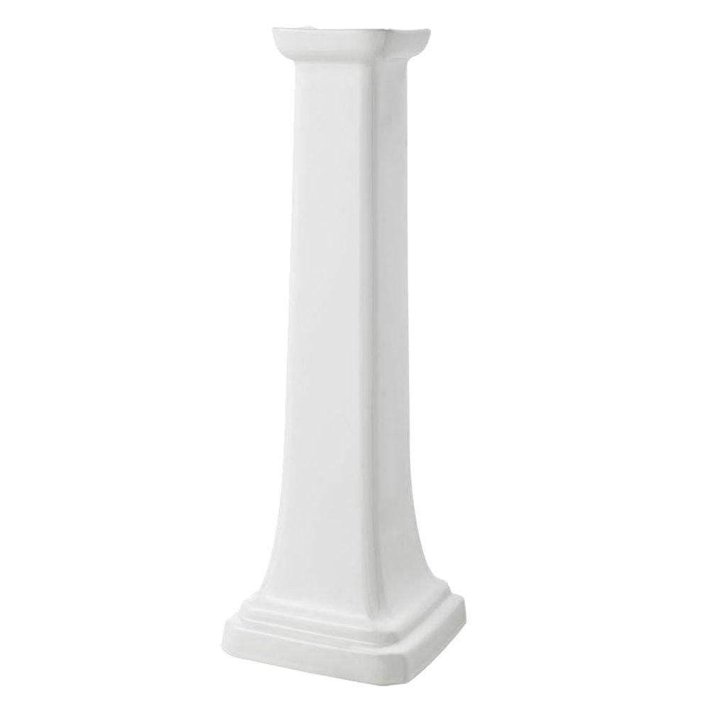 Series 1920 Petite Pedestal in White