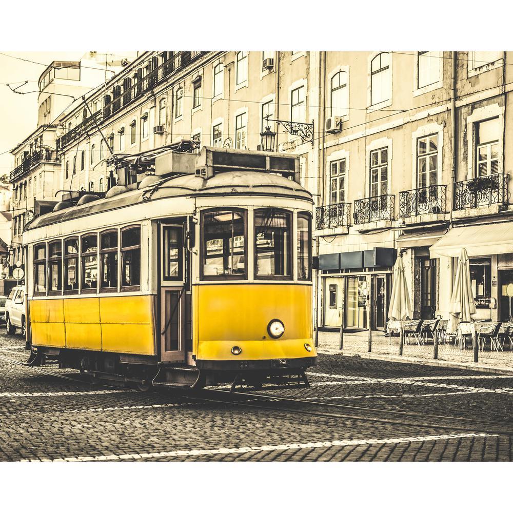 Vintage Tram Wall Mural