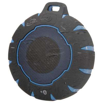 Waterproof Bluetooth Speaker IP66, Blue