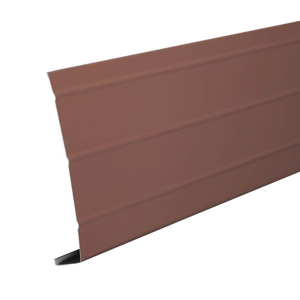 Amerimax Home Products 6 In X 12 Ft Aluminum Fascia Trim