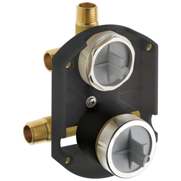 MultiChoice Universal Integrated Shower Diverter with Stops Rough-in Kit