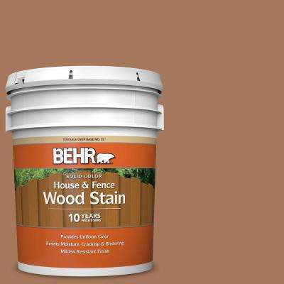 5 gal. #SC-146 Cedar Solid Color House and Fence Exterior Wood Stain