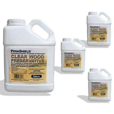1 gal. Borate Wood Treatment and Preservative (4-pack)