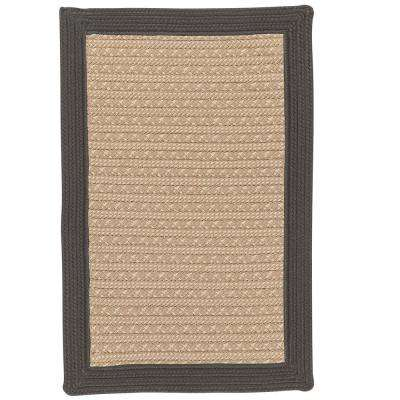 Beverly Gray 6 ft. x 9 ft. Braided Indoor/Outdoor Area Rug